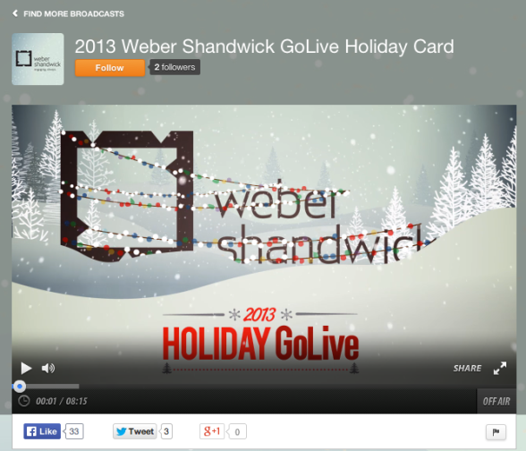 Holiday GoLive